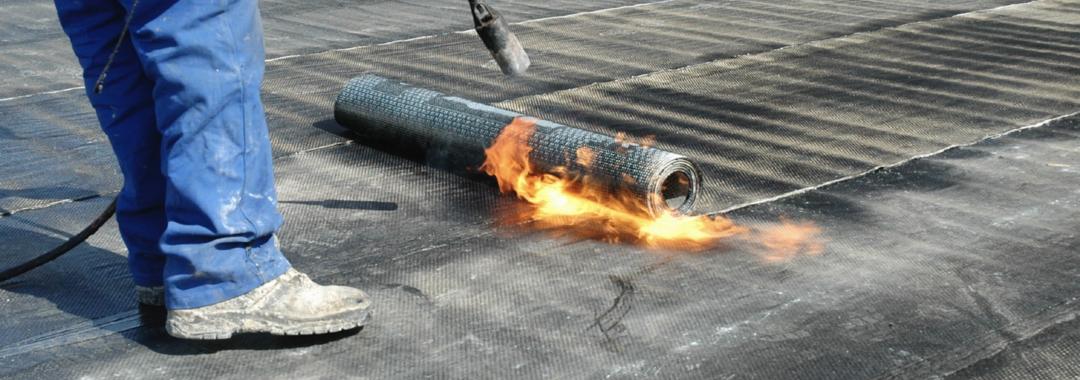 torch on felt