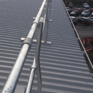 Roof Mounted Handrail