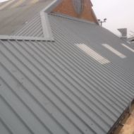Roof Refurbishment - Sheeting